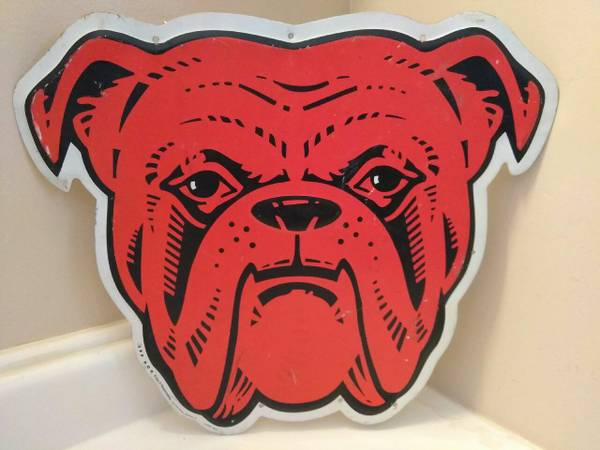 RARE Red Dog Beer Sign Metal.