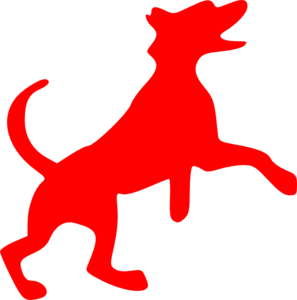 Red Dog Clipart.
