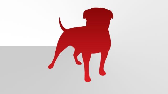 Red dog Logos.