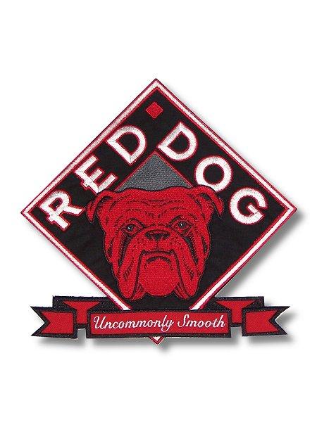 Red Dog Logo Jumbo Patch.