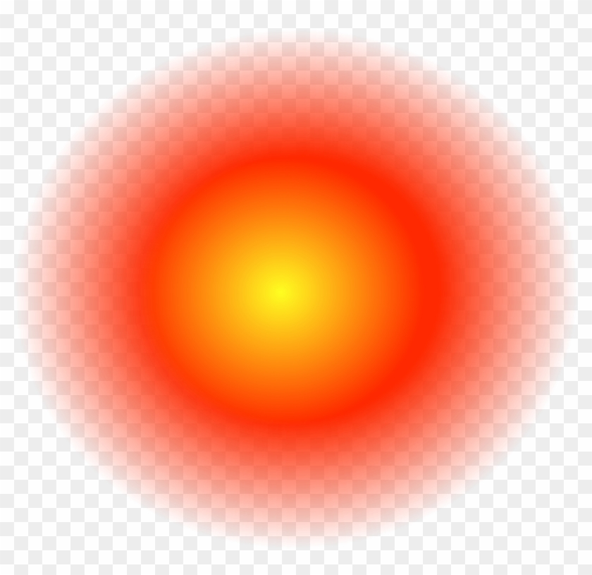 Glowing Red Dot Png.