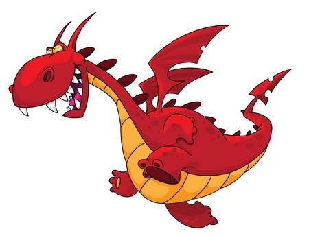 Red dragon clipart » Clipart Station.