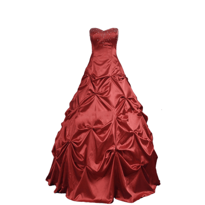 Dress Red Party transparent PNG.