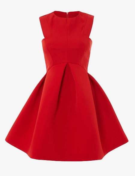 Clothes, Red Dress, Ms, Dress PNG Image #3170.