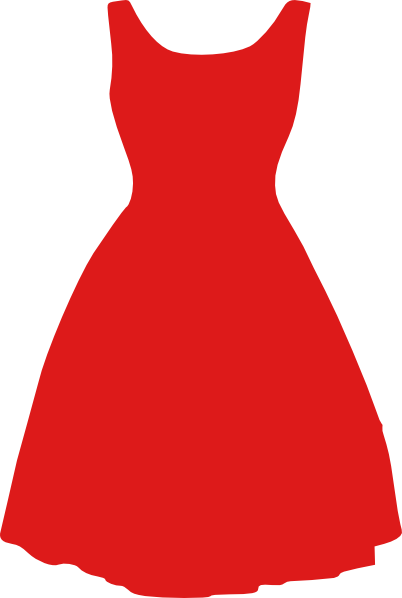 Red Dresses png #26109.
