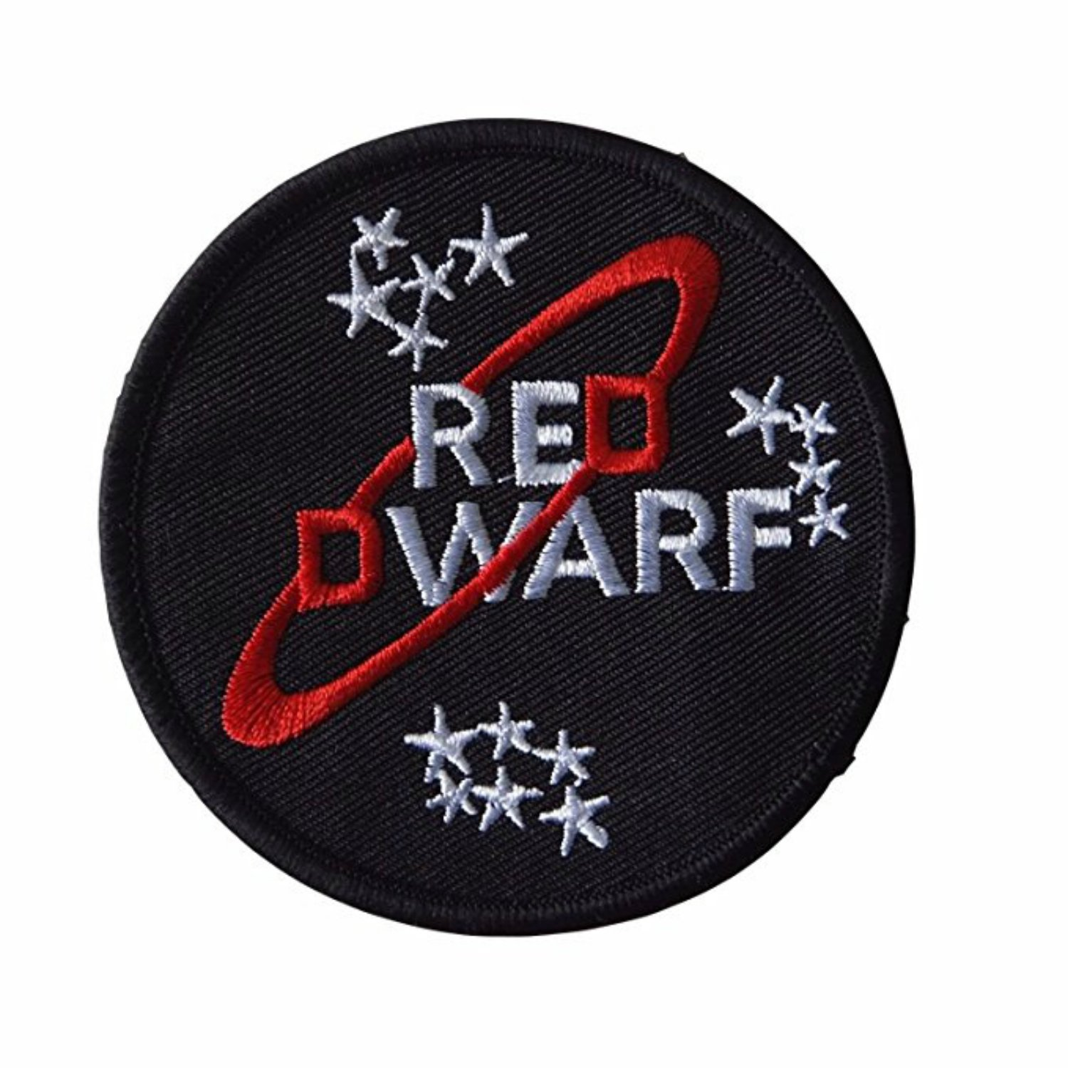 Amazon.com: Red Dwarf Logo Embroidered Patch: Clothing.