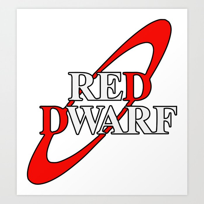 Red Dwarf Planet Logo Art Print by dylanjaimz.