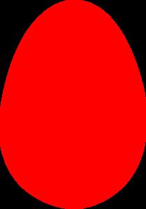 Red Easter Egg Clip Art at Clker.com.