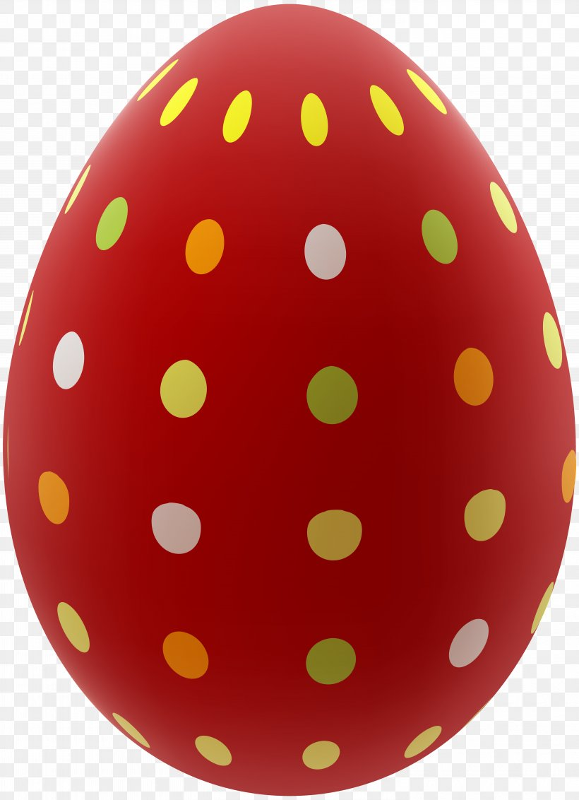 Red Easter Egg Clip Art, PNG, 5795x8000px, Easter Bunny.