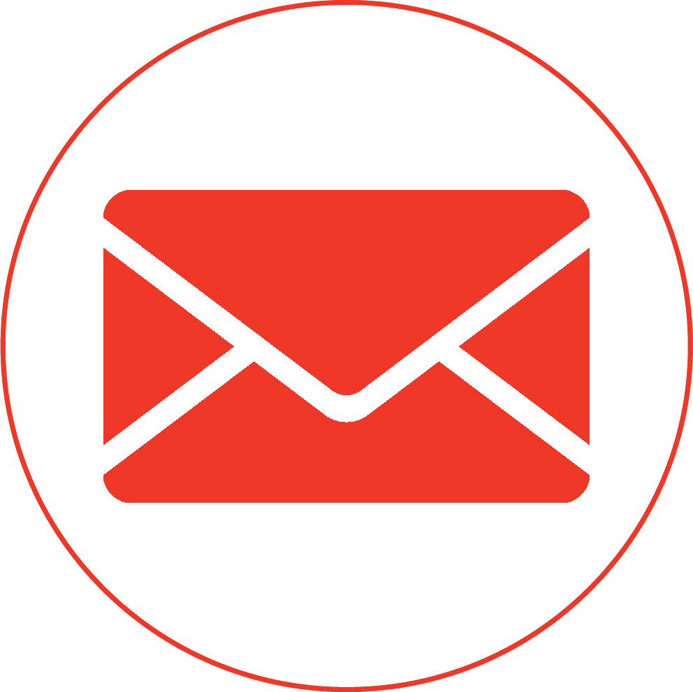 HD Red Email Icon Png.