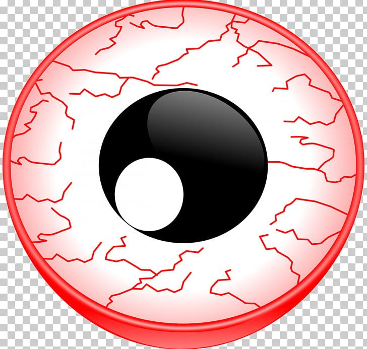 Red Eye PNG, Clipart, Area, Cartoon, Circle, Clip Art.