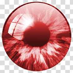 Iris , red contact lens transparent background PNG clipart.