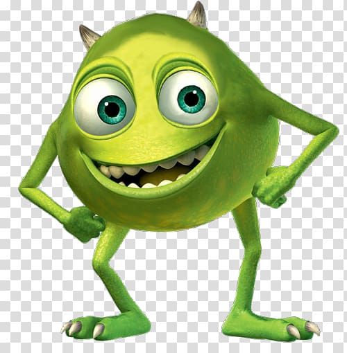 Mike Wazowski James P. Sullivan Randall Boggs Boo Monsters.