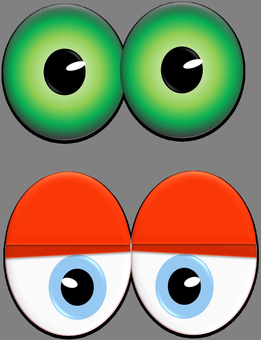 Monster Eye Clipart.