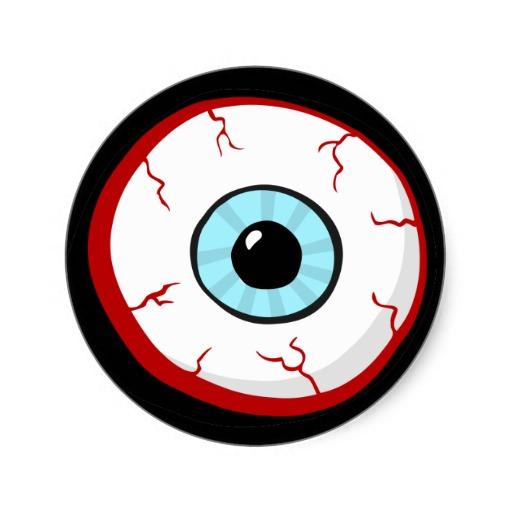 Bloodshot eye clipart.