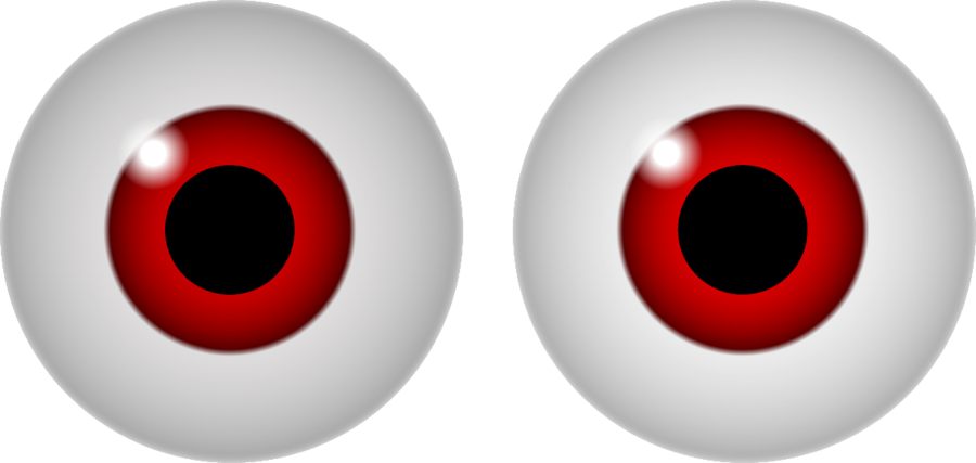 Red Eye Clipart.