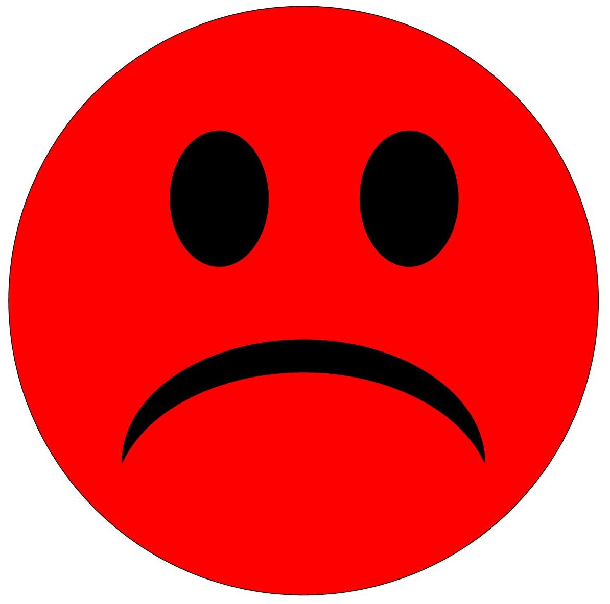 Red Sad Face Frees That You Can Download To Computer And.