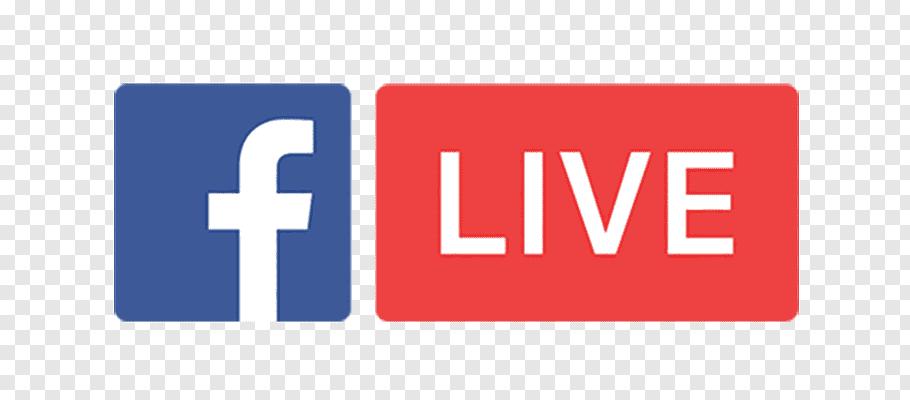 Facebook Live logo, YouTube Facebook Live Social media.