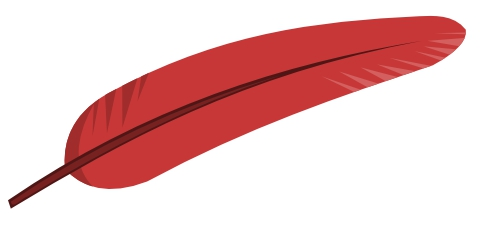 Red Feather Clipart#1964111.
