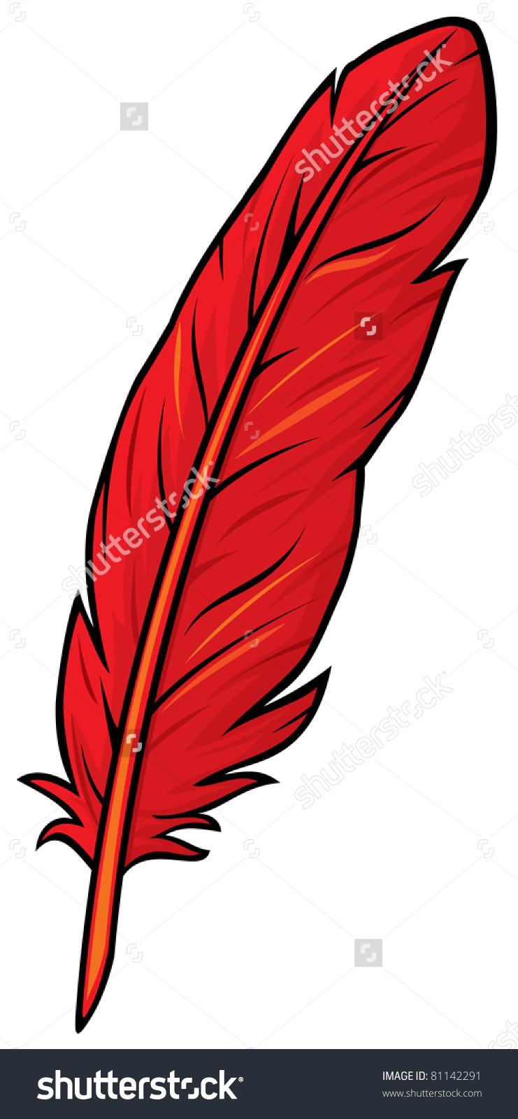 A Red Feather Stock Photos, Images, & Pictures.