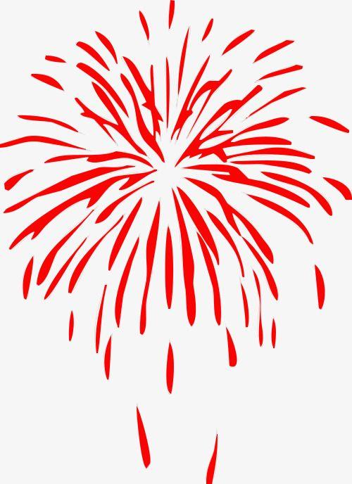 Red Fireworks.