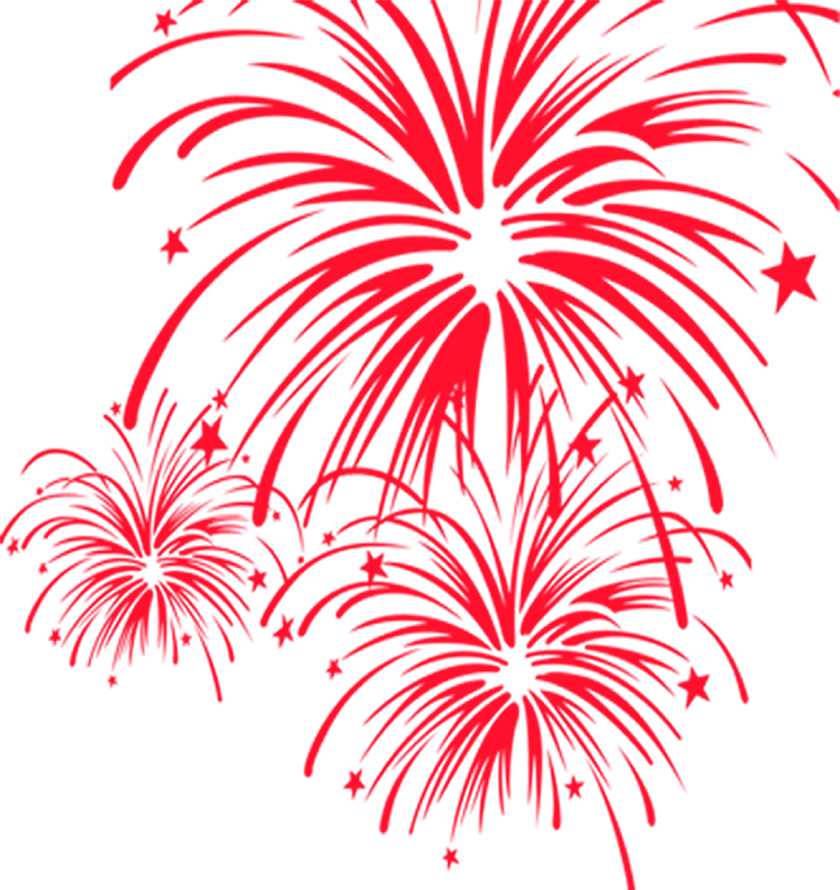 Clipart Fireworks Firework Chinese.