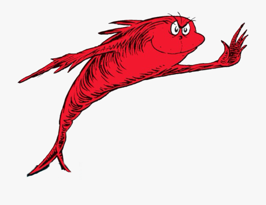 Fish Red Fish Blue Fish Clipart , Png Download.