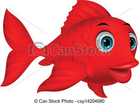 Red Fish Clip Art Free.