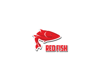 Red Fish Designed by MDS.