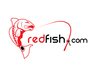 Red Fish Designed by Davids.
