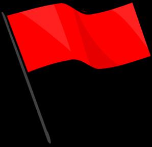 Red Flag Clip Art at Clker.com.