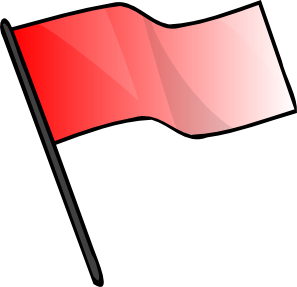 Red Flag Clip Art at Clker.com.