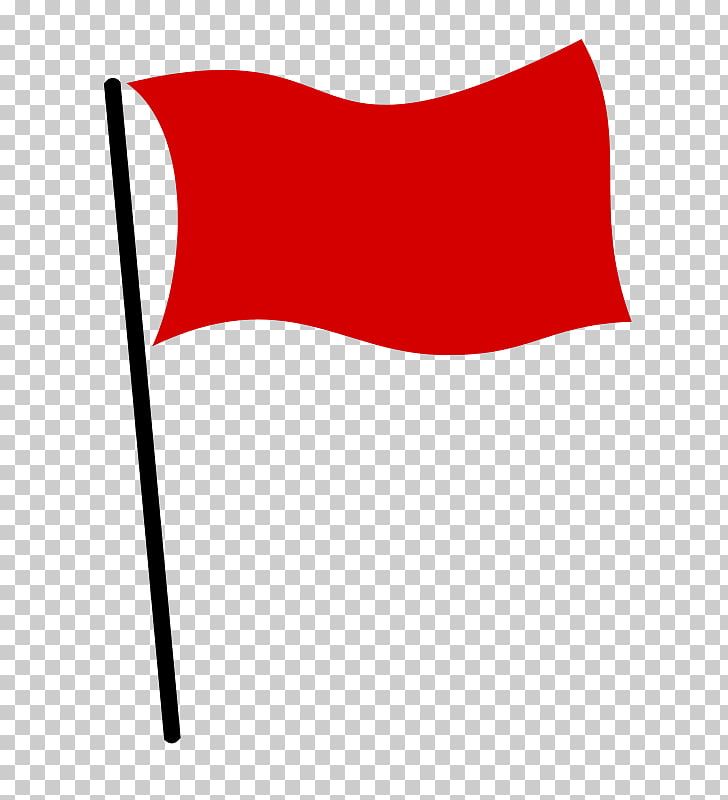 Red flag White flag , red flag PNG clipart.