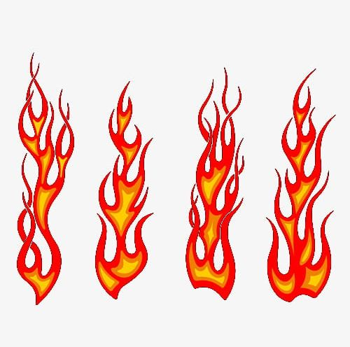 Red Flame PNG, Clipart, Elemental, Fire, Fire Elemental.