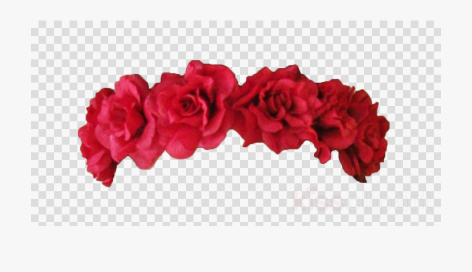 Flower Crown Png Red.