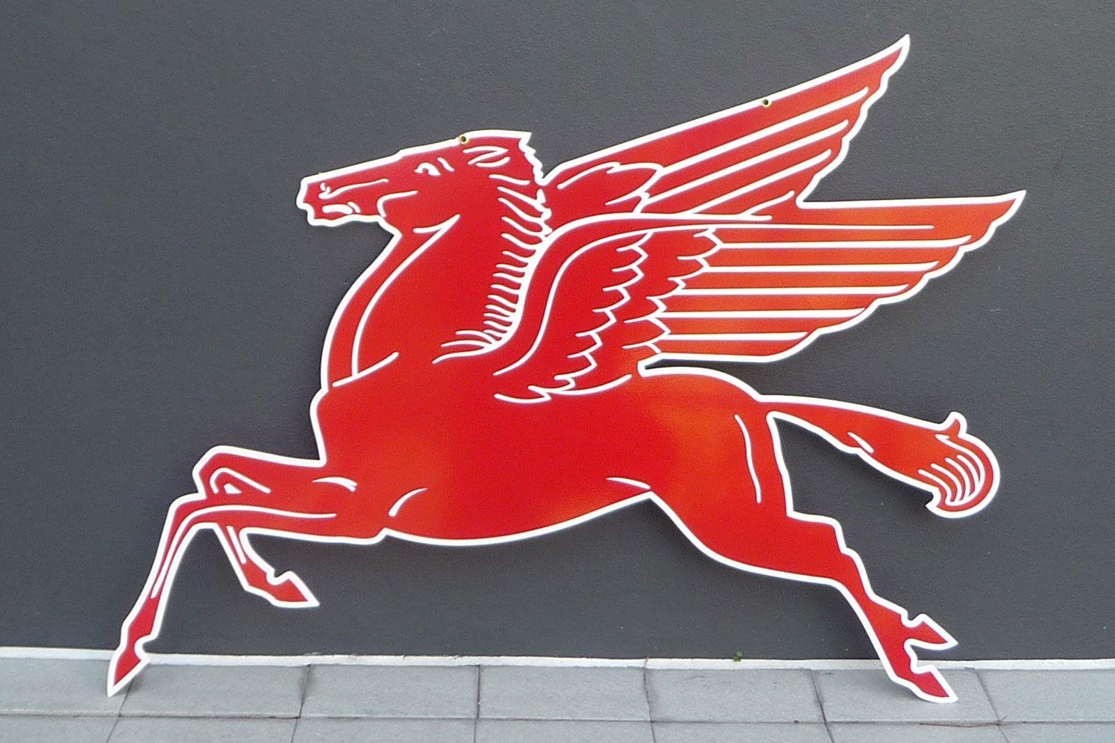Mobil Horse Logo.