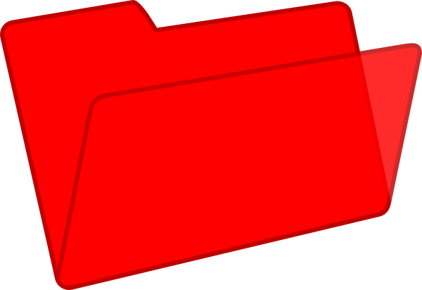 Red Folder Clip Art at Clker.com.