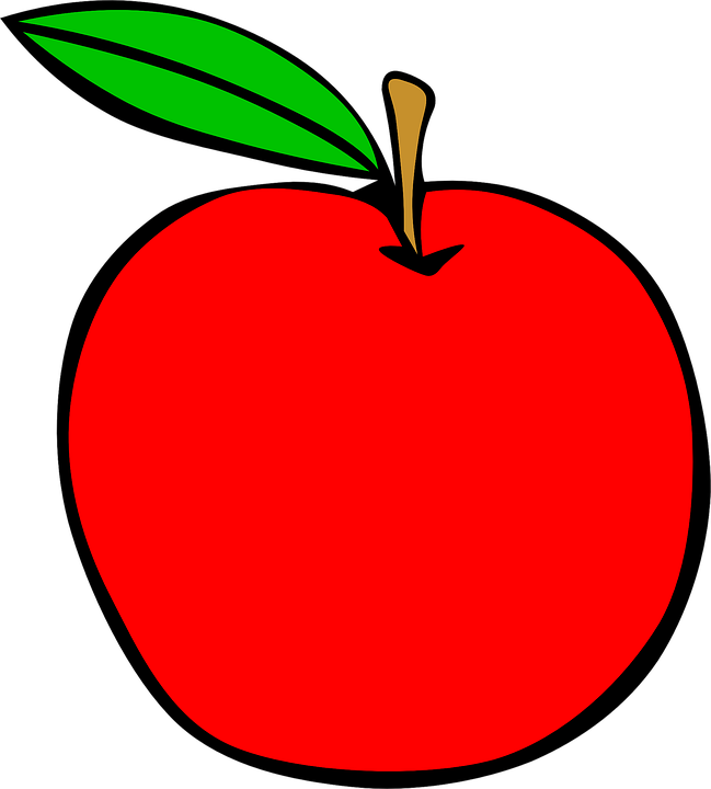 Free vector graphic: Apple, Red, Food, Fruit, Healthy.