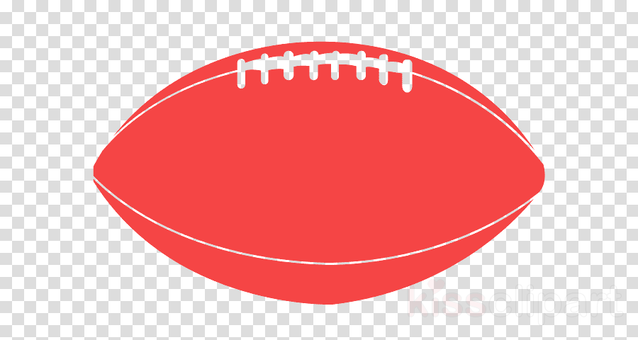red rugby ball ball circle american football clipart.