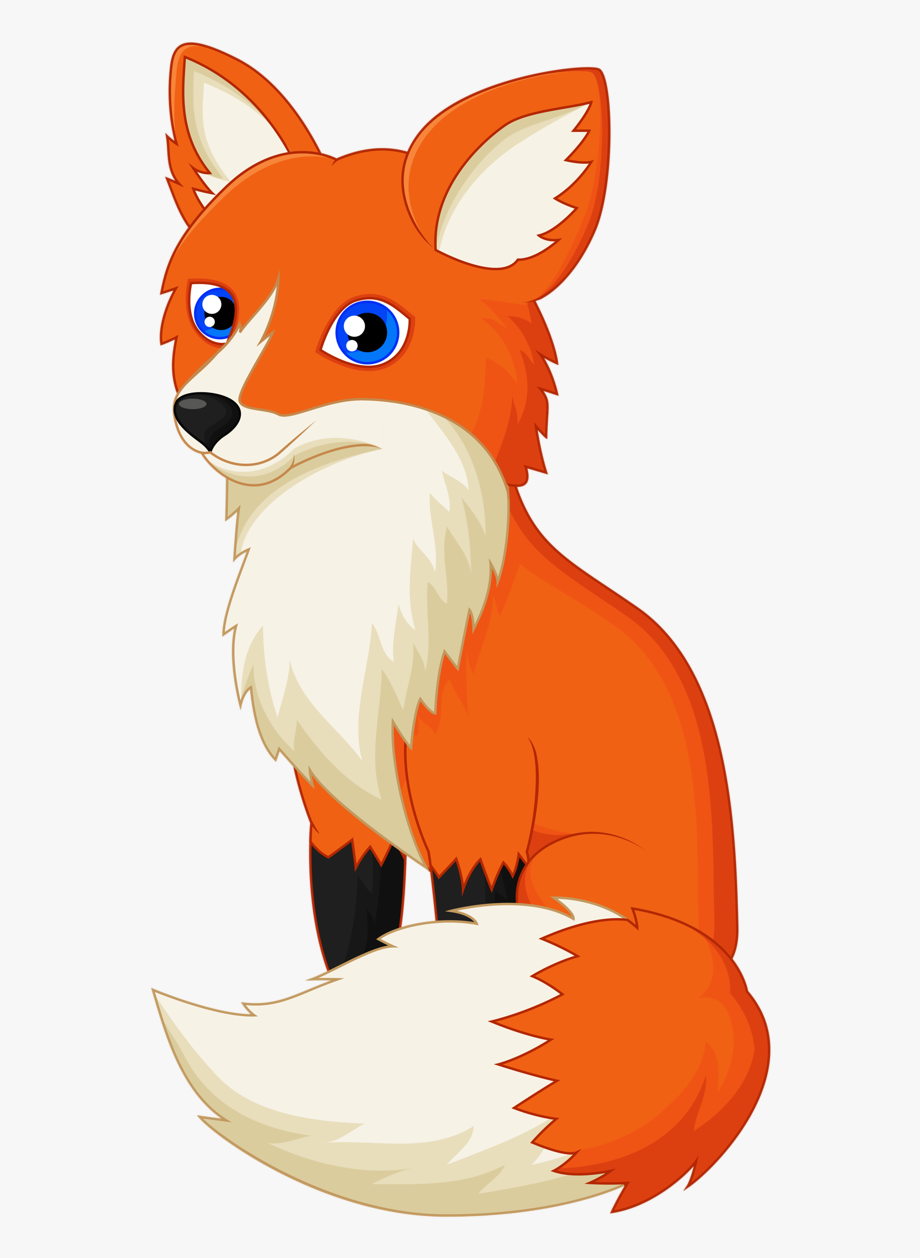 Drawing Red Fox Clip Art Transprent Png.