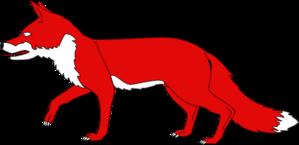 Red Fox Clip Art.