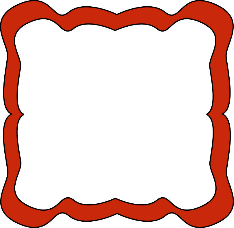 Red frame clipart clipart images gallery for free download.