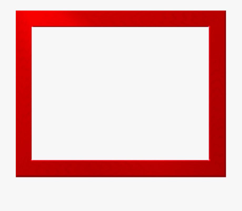 Red Border Frame Png Free Download.