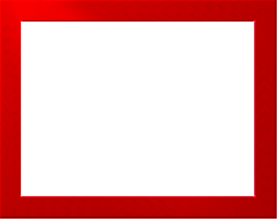 Download Red Border Frame PNG Free Download For Designing.