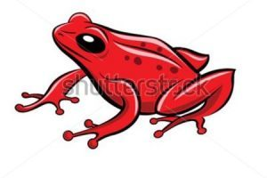 Red frog clipart » Clipart Portal.