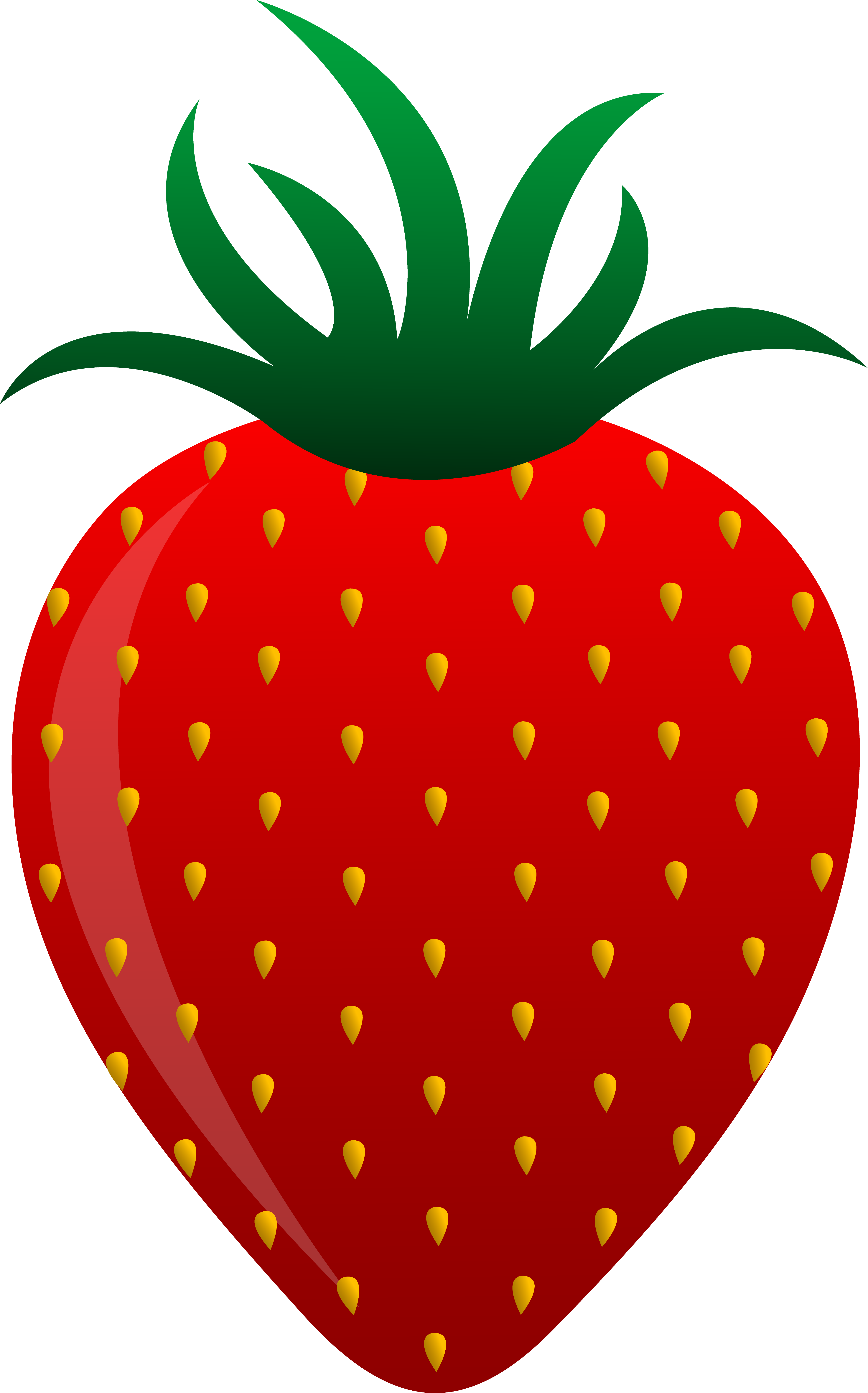 Red fruits clipart - Clipground