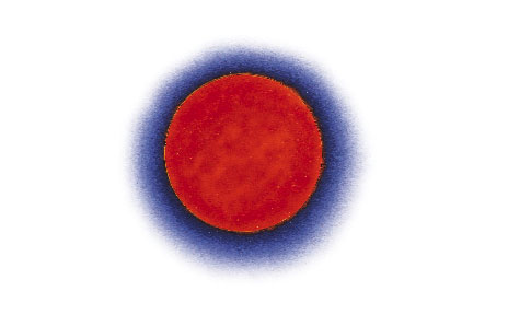 Red giant star clipart.