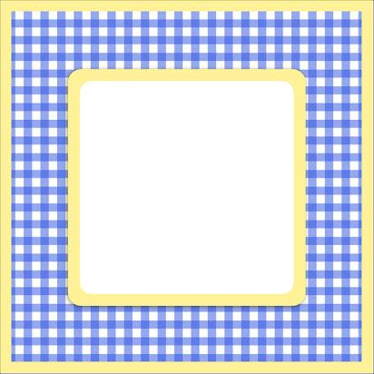 Blue gingham border clip art free.