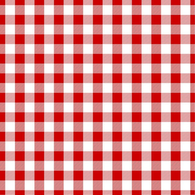 Red gingham clipart 8 » Clipart Portal.