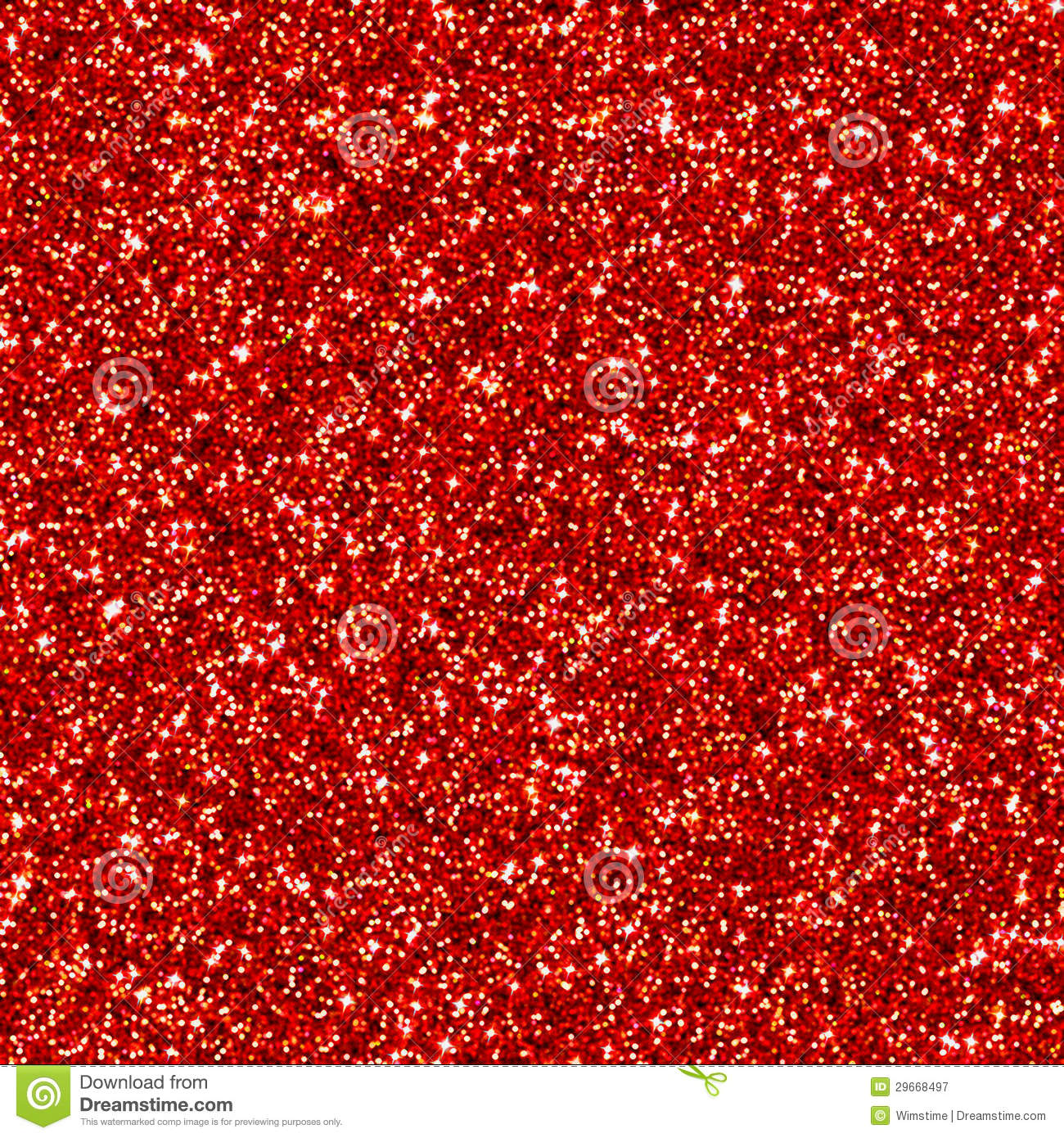 Red Glitter Clipart.